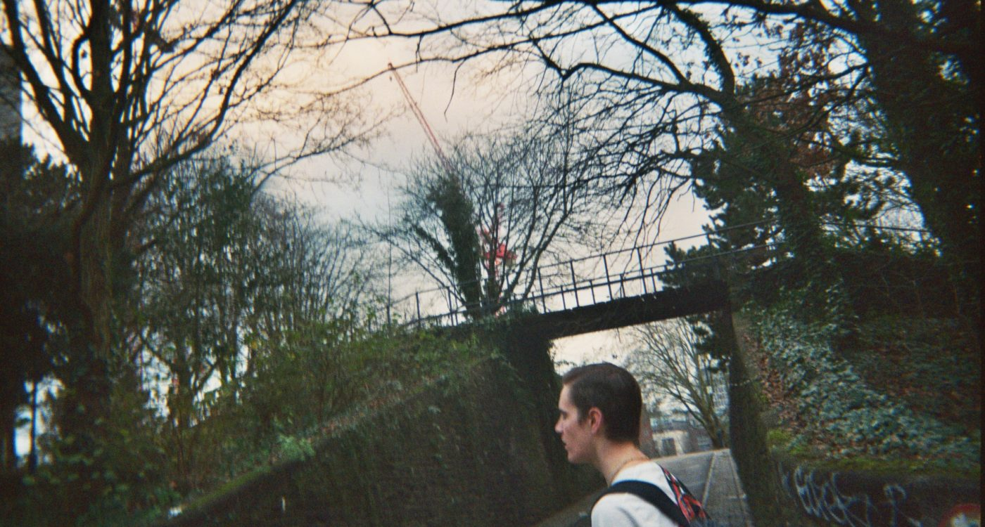 Brooke's disposable photograph (for the 21st Century Kids) of her friend in Castle Park