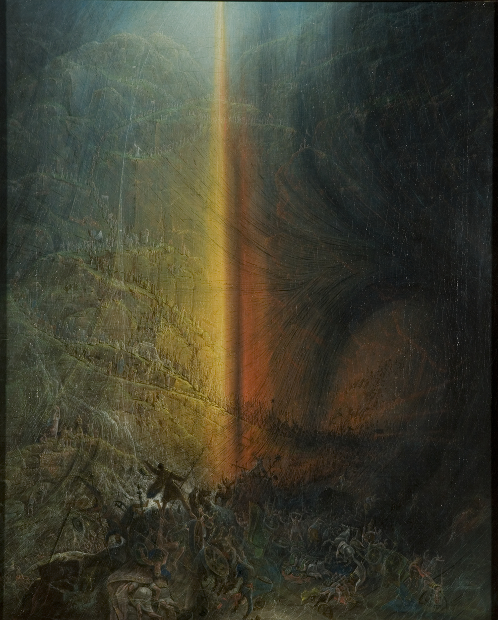 Painting of Biblical scene
