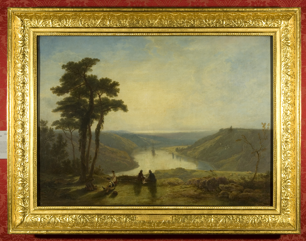 Painting of the Avon from the Downs, Bristol