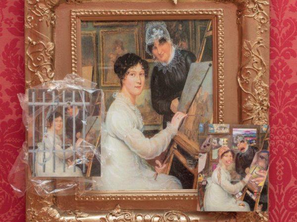 Collage of Rolinda Sharples paintings